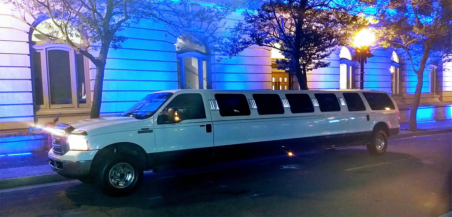 limousine rental near me price