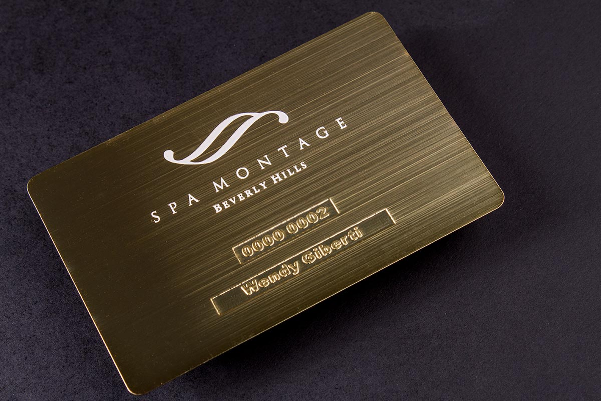 metal digital business cards